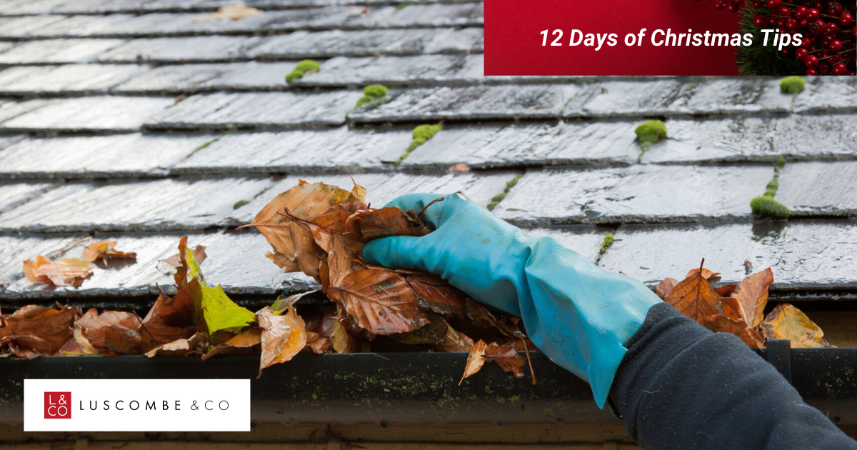 12 Tips of Christmas - Day 1 - Clear Out Your Gutters
