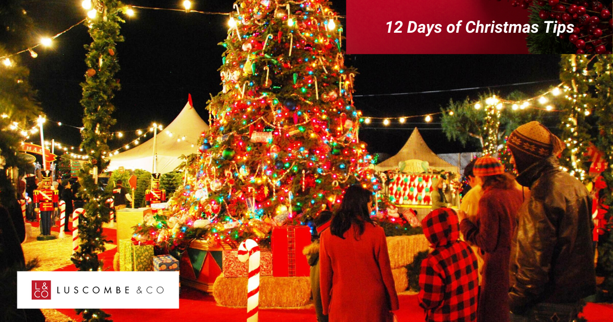 12 Tips of Christmas - Day 12 - And Finally... Celebrate