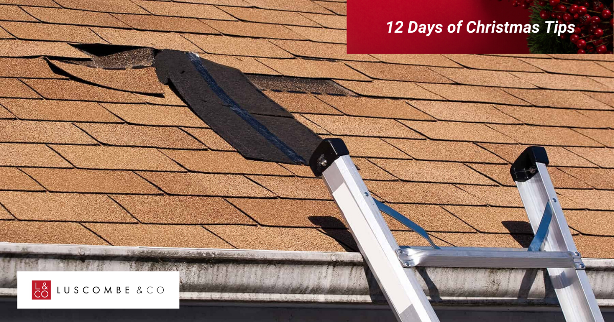 12 Tips of Christmas - Day 7 - Make Sure Your Roof Is In Good Repair