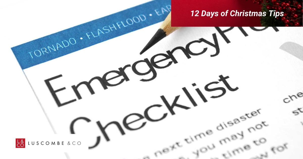 12 Tips of Christmas - Day 8 - Ensure Your Tenants Know What To Do And Who To Contact