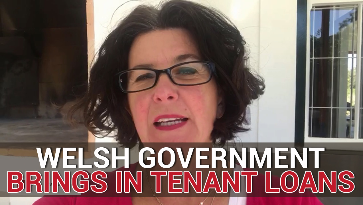 BREAKING Welsh Government brings in tenant loans